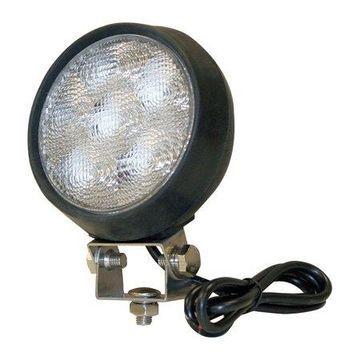 BUYERS PRODUCTS Lamp, LED, Round, Flood, Aluminum 1492112