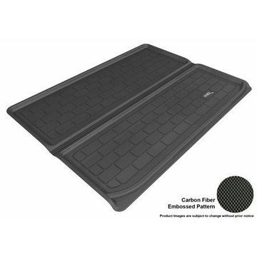 3D MAXpider 2005-2010 Hummer H3 All Weather Cargo Liner in Black with Carbon Fiber Look