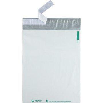 Quality Park, QUA46197, Poly Mailing Envelopes, 100 / Pack, White
