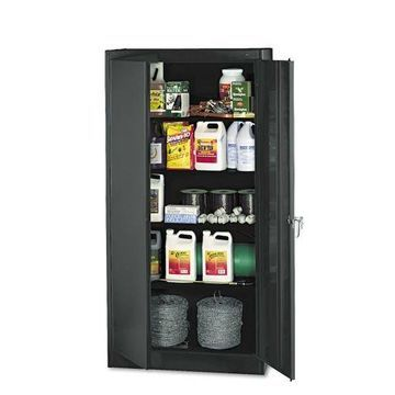 ''Tennsco 72'''' High Standard Cabinet 36w x 18d x 72h Black 1470BK''