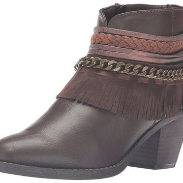 Rampage Women's Tumble Ankle Bootie
