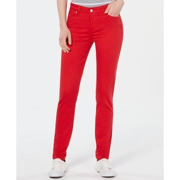 Juniors' Jayden Colored Wash Skinny Jeans