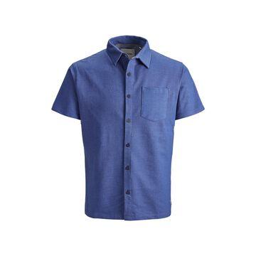 Men's Jack & Jones Men's Summer Polo full button Shirt with contrast details