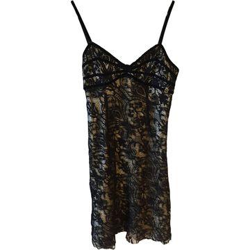 John Galliano \N Black Lace Dresses