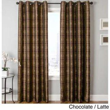Softline Elton Square Grommet Top Curtain Panel