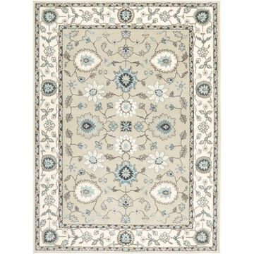 Home Dynamix Oxford Collection Beige/Cream Transitional Machine Made Polypropylene Area Rug - 5'2 x 7'2 (Beige/Cream - 5'2 x 7'2)