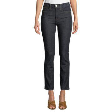 Stevie Straight-Leg Ankle Jeans