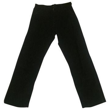 Apc \N Black Cotton Trousers