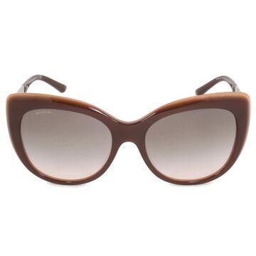 Bvlgari Cat Eye Sunglasses BV8198B 54423B 57 - 57mm x 18mm x 140mm