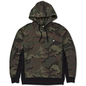 Billabong Men's Colorblocked Camouflage Hoodie