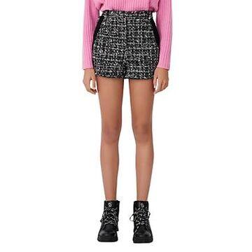 Maje Iaco Tweed Shorts