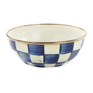 MacKenzie-Childs - Royal Check Everyday Bowl - Small