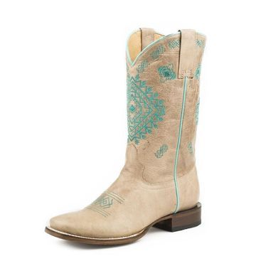 Roper Western Boots Womens Bluebird 11