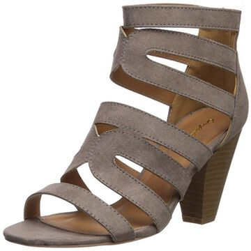 Qupid Womens chamber26x Fabric Open Toe Casual Strappy Sandals