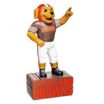 Evergreen Cleveland Browns Mascot Statue