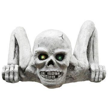 National Tree Company Crawling Skull Halloween Decor