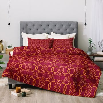 Deny Designs Trellis 3-Piece Comforter Set