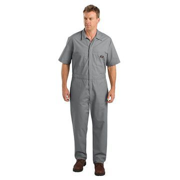 Men's Dickies Regular-Fit Coverall, Size: XXL, Light Grey