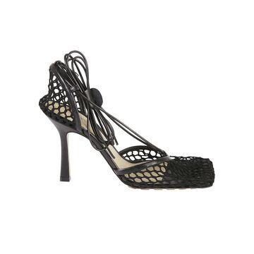 Bottega Veneta Stretch Web Sandals