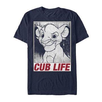 Fifth Sun Men's Tee Shirts NAVY - The Lion King Navy 'Cub Life' Tee - Men