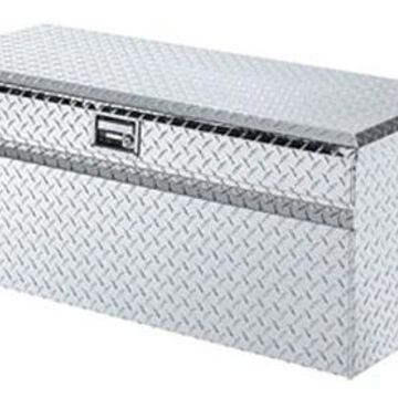 Lund Challenger Truck Tool Chest in Polished, 44 Inch Utility Chest with Handles