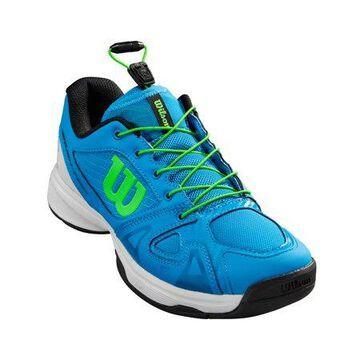 Wilson Junior Rush Pro QL Tennis Shoe, Brillant/White/Green