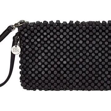 The Sak Montara Wristlet (Black Wood Beads) Handbags
