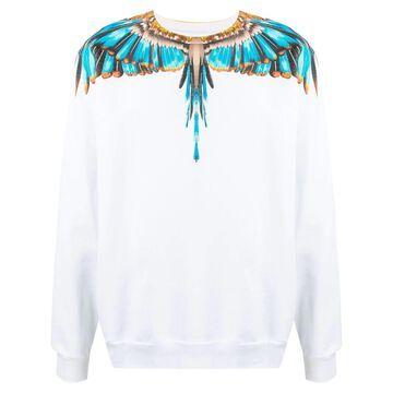 Wings-print sweatshirt