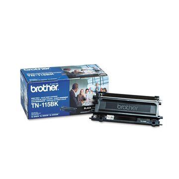 Brother TN115BK High-Yield Toner, 5000 Page-Yield, Black -BRTTN115BK