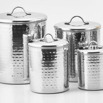 Old Dutch 4-Piece Multisize Stainless Steel Food Storage Container   943