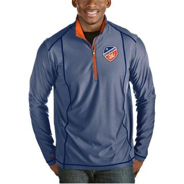 Antigua Men's FC Cincinnati Tempo Royal Quarter-Zip Pullover
