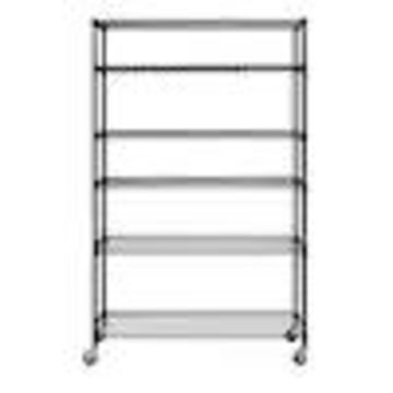 edsal Muscle Rack 18-in D x 48-in W x 74-in H 6-Tier Wire Freestanding Shelving Unit
