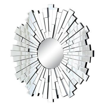 Andre Sunburst Decorative Wall Mirror - Abbyson Living