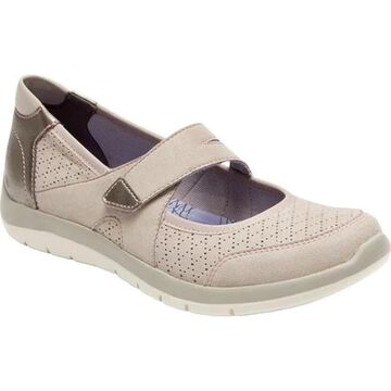 Aravon Women's Wembly Mary Jane Taupe Textile