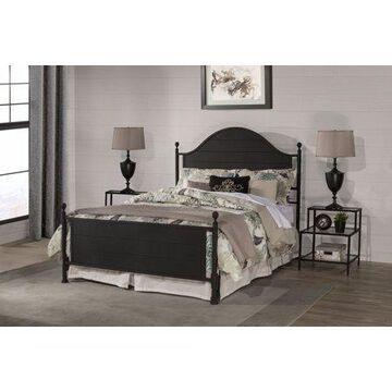 Hillsdale Furniture Cumberland Black Metal Queen Bed
