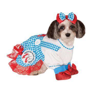 Buyseasons The Wizard Of Oz Dorothy Pet Costume