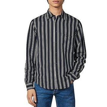 Sandro New Flow Slim Fit Shirt