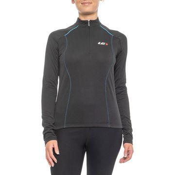 Louis Garneau Edge CT Zip Neck Cycling Jersey - UPF 50, Long Sleeve (For Women)