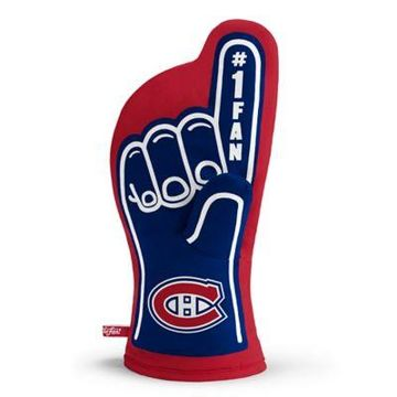 NHL Montreal Canadiens #1 Fan Oven Mitt