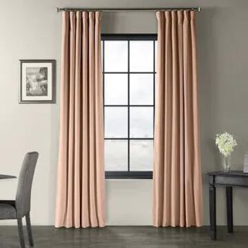 Exclusive Fabrics Signature Blackout Velvet Curtain (1 Panel)