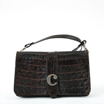 Carven Brown Leather Handbags