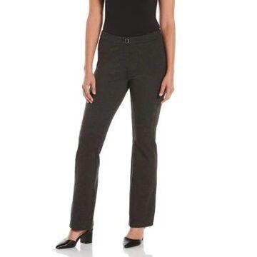 Rafaella Women's Fly Front Bootcut Pants -