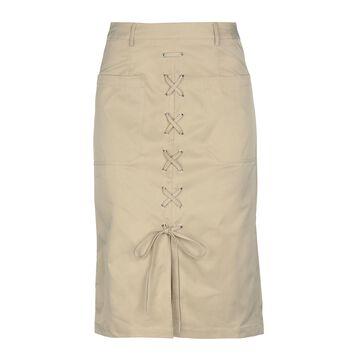 GLAMOROUS Knee length skirts