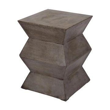 Dimond Home Fold Cement Stool