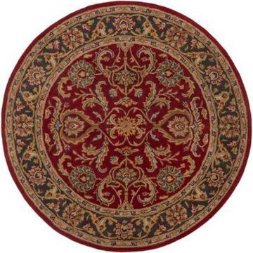 Artistic Weavers Middleton Georgia 6-Foot Round Area Rug in Red