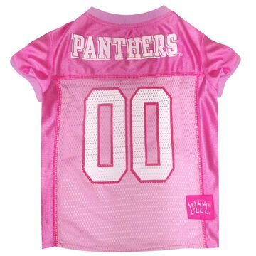 Pets First Pittsburgh Panthers Pink Jersey, Large