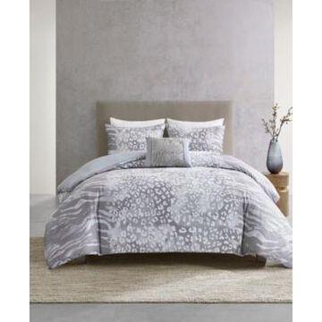 Natori Dohwa 3 Piece Comforter Set - King/California King Bedding