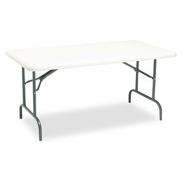 Iceberg IndestrucTables Too 1200 Series Resin Folding Table 60w x 30d x 29h