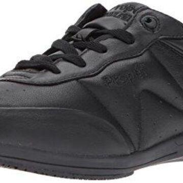 Propet Women's Washable Walker Sneaker, SR Black, 9 Narrow US