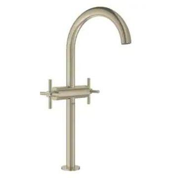 Grohe Atrio Bathroom Deck-Mount Vessel Faucet Kit with Cross Handles